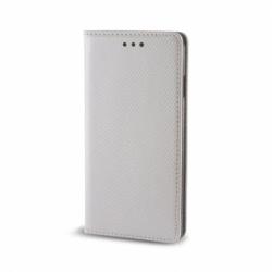 Husa SAMSUNG Galaxy J3 2016 - Smart Magnet (Argintiu)