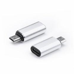 Adaptor Tip C - MicroUSB (Argintiu)