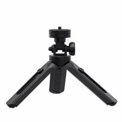 Mini Trepied Cu Suport Pentru Telefon + camera GoPro + Selfie Stick (Negru)