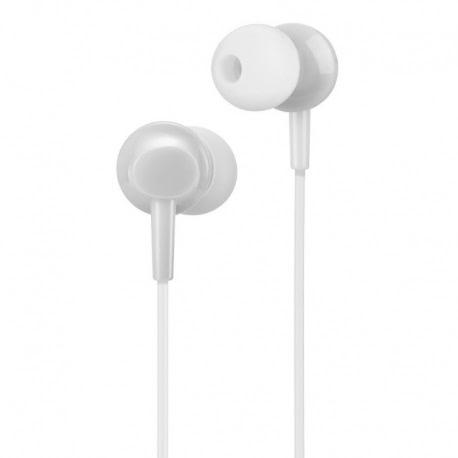 Casti Stereo cu Microfon - mufa Jack 3.5mm (Alb) HOCO M14