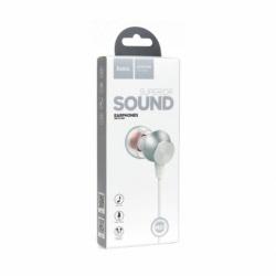 Casti Stereo cu Microfon - mufa Jack 3.5mm (Alb) HOCO M51