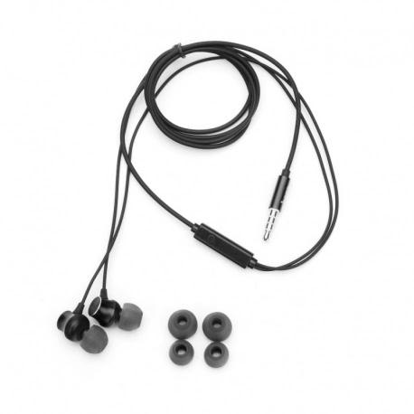 Casti Stereo cu Microfon - mufa Jack 3.5mm (Negru) HOCO M51