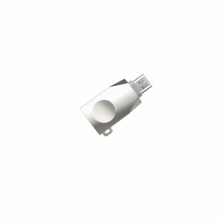 Adaptor OTG USB - MicroUSB (Argintiu) HOCO UA10