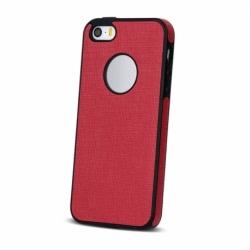 Husa APPLE iPhone 5\5S\SE - Cloth (Rosu)