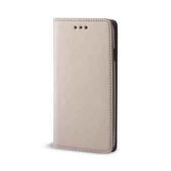 Husa ALCATEL Shine Lite - Smart Magnet (Auriu)