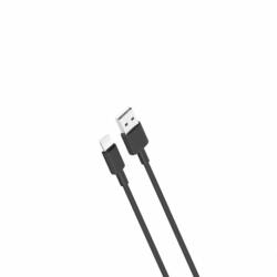 Cablu Date & Incarcare APPLE Lightning 2.4A (Negru) 1m XO NB156
