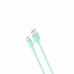 Cablu Date & Incarcare Tip C (Verde) 1m XO NB156