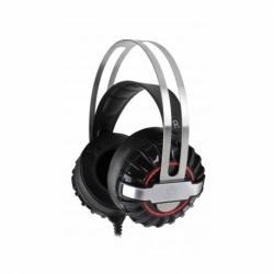 Casti de gaming cu microfon, stereo cu Mufa Jack 3.5mm (Negru) Rebeltec Typhoon