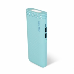 Baterie Externa Cu Lanterna 4800 mAh (Menta) Setty