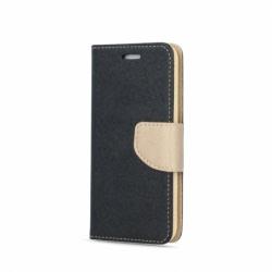 Husa APPLE iPhone 7 / 8 - Fancy Book (Negru&Auriu)