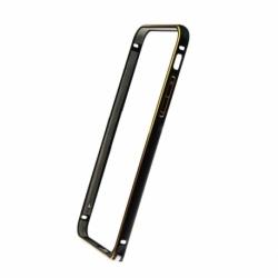 Bumper Aluminiu APPLE iPhone 6\6S (Negru&Auriu)