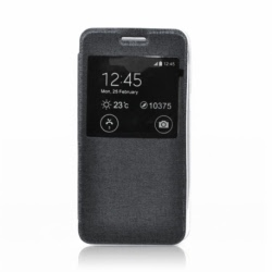 Husa APPLE iPhone 6\6S - S-View (Negru)