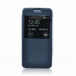 Husa APPLE iPhone 6\6S - S-View (Bleumarin)