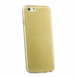 Husa APPLE iPhone 6\6S - Jelly Brush (Auriu)