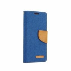Husa APPLE iPhone 6\6S - Canvas Book (Albastru)