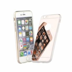 Husa APPLE iPhone 7 / 8 - Mirro (Roz-Auriu)