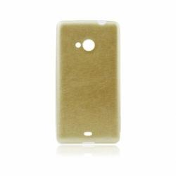 Husa APPLE iPhone 6\6S - Jelly Piele (Auriu)