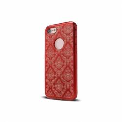 Husa APPLE iPhone 5\5S\SE - Ornament (Rosu)