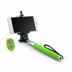 Selfie Stick Universal cu Bluetooth (Verde) Blun