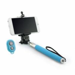 Selfie Stick Universal cu Bluetooth (Albastru) Blun