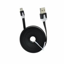 Cablu Date & Incarcare Plat APPLE Lightning - 2 Metri (Negru)