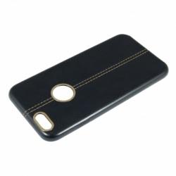 Husa APPLE iPhone 7 / 8 - Fashion (Design Negru&Auriu)