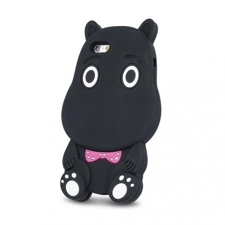 Husa SAMSUNG Galaxy J5 2016 - 3D (Hippo Negru)