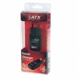 Incarcator Universal 1A - doar Priza (Negru) Blister ATX