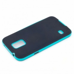 Husa SAMSUNG Galaxy Core Plus - Hybrid (Negru&Albastru) ATX