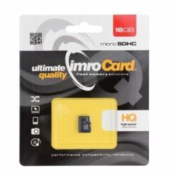 Card MicroSD 16GB Clasa 10 IMRO