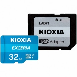 Card MicroSD 32GB + Adaptor Clasa 10 Kioxia