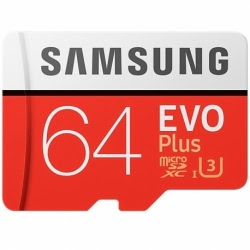 Card MicroSD Original SAMSUNG PRO Plus - 64GB
