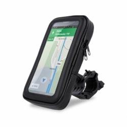 "Suport Telefon Bicileta Universal Rezistent la Apa 5,6"" (Negru) Setty UR-03L"