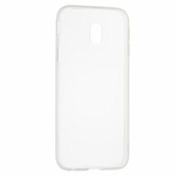 Set SAMSUNG Galaxy J3 2017 - Husa Ultra Slim (Transparent) + Folie de Sticla 3D (Alb) Smart Glass