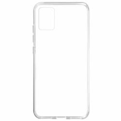 Set SAMSUNG Galaxy A71 - Husa Ultra Slim 0.5mm (Transparent) + Folie de Sticla 5D (Negru) Full Glue