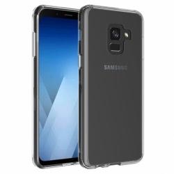 Set SAMSUNG Galaxy A6 Plus 2018 - Husa Ultra Slim (Transparent) + Folie de Sticla 9D Full Glue (Negru) Smart Glass