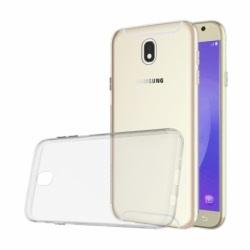 Set SAMSUNG Galaxy J7 2017 - Husa Ultra Slim (Transparent) + Folie regenerabila Silicon Armor, TSS HQMobile
