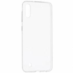 Set SAMSUNG Galaxy M10 - Husa Ultra Slim (Transparent) + Folie de Sticla 9D Full Glue (Negru) Smart Glass