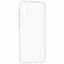 Set SAMSUNG Galaxy M10 - Husa Ultra Slim (Transparent) + Folie regenerabila Silicon Armor, TSS HQMobile