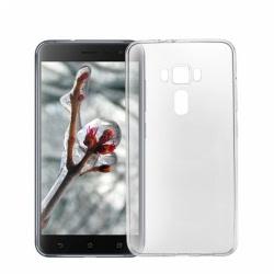 Set ASUS ZenFone 3 ZE552KL - Husa Ultra Slim (Transparent) + Folie de Sticla Smart Glass