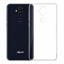 Set ASUS ZenFone 5 Lite ZC600KL - Husa Silicon Armor (Transparent) LIVON + Folie de Sticla Smart Glass