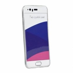 Set APPLE iPhone 6\6S Plus - Husa 360 UltraSlim (Transparent) + Folie de Sticla Flexibila Raccon