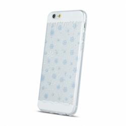 Set SAMSUNG Galaxy J5 (2015) - Husa Winter (Icicle) + Folie de Sticla Flexibila Raccon