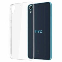 Set HTC Desire 626 - Husa Ultra Slim (Transparent) + Folie de Sticla Smart Glass