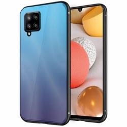 Husa SAMSUNG Galaxy A12 - Ombre Glass (Albastru)