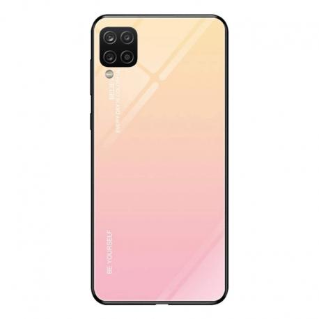 Husa SAMSUNG Galaxy A12 - Ombre Glass (Roz)
