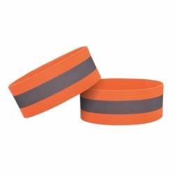 Banda Reflectorizanta Velcro 4cm (Portocaliu)