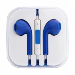 Casti Telefon APPLE iPhone 3/4/5/6 (Albastru) Box