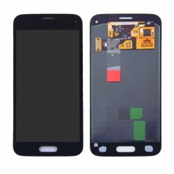 Display LCD + Touchscreen Original SAMSUNG Galaxy S5 Mini (Negru)
