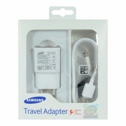 Incarcator Original Fast Charge 2A SAMSUNG EP-TA20EWE + Cablu MicroUSB (Alb)